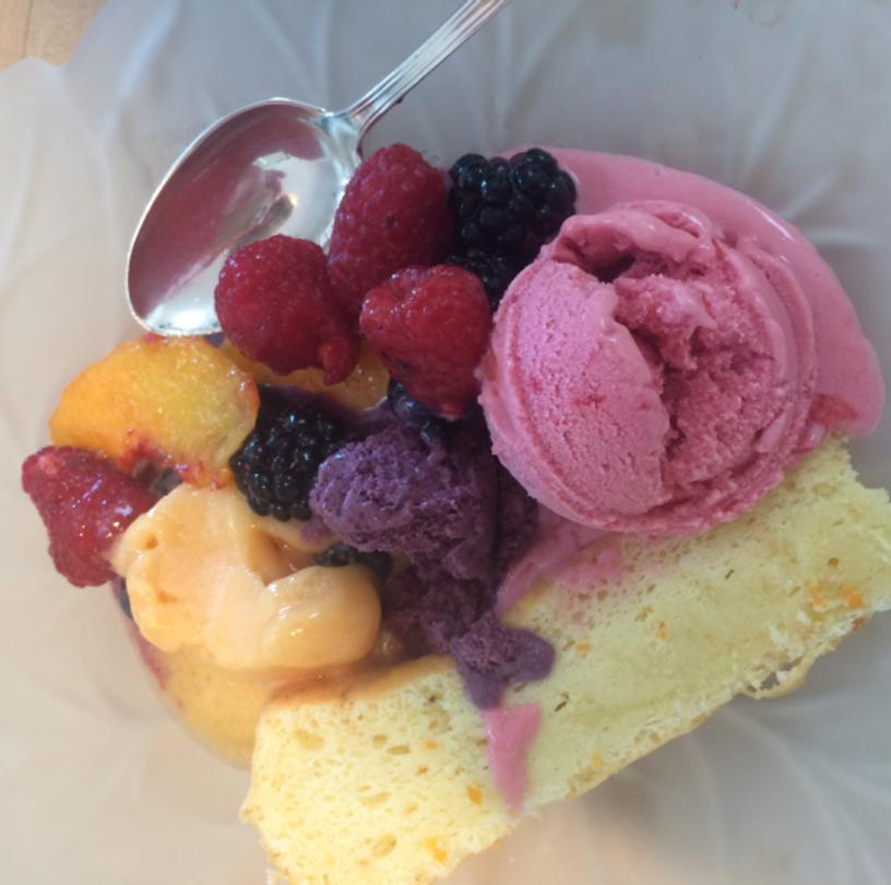 Inspiration-J:  Summer dessert