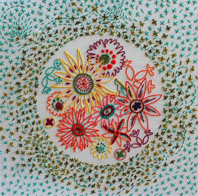 Alison Glass embroidery