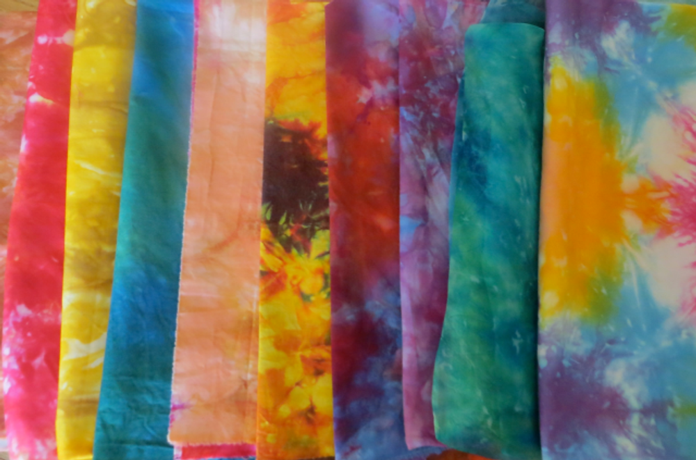 Fabric-CR:  Cyndy Rymer's Array of Hand-Dyed Fabric Made in Hawaii