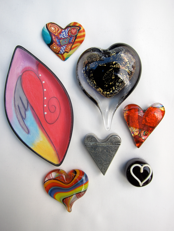 Inspiration-J:  Hearts from Diana McClun's Collection