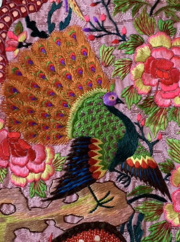 Inspiration-J: Vintage Chinese Textiles