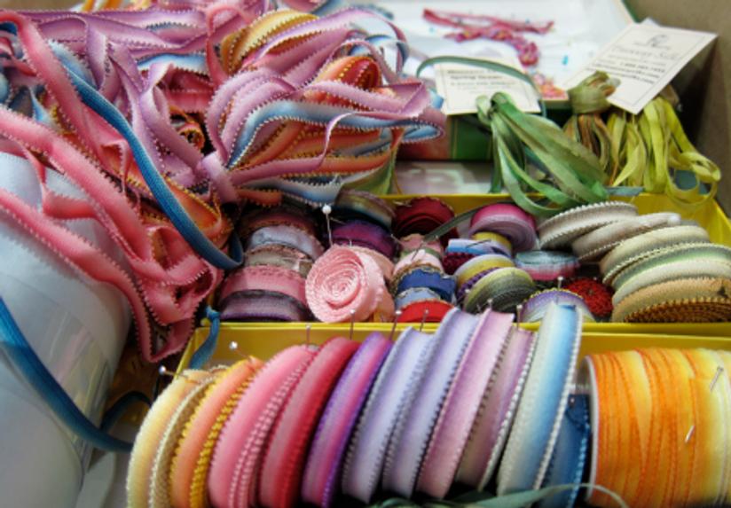 Inspiration-J:  Candace Kling's ribbon collection