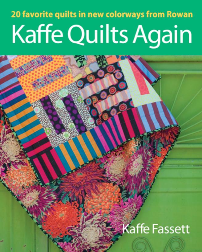 Book-J:  Kaffe Quilts Again