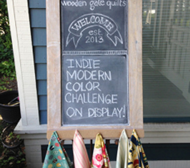 An Indie Modern Quilt Group Takes on a Color Challenge