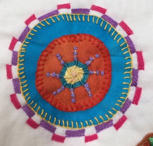 Linda Lambert embroidery