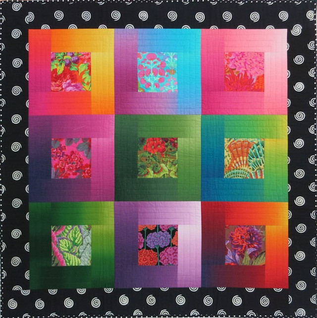 Lustrous Squares by Christine Barnes