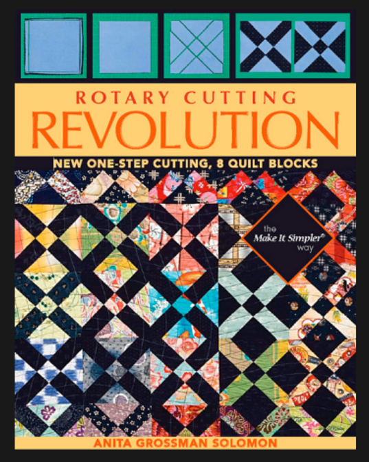 Book-J:  Rotary Cutting Revolution by AG Solomon