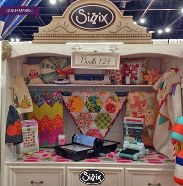 Sizzix Booth (2)