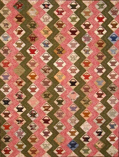 Little Baskets by Edyta Sitar/Laundry Basket Quilts