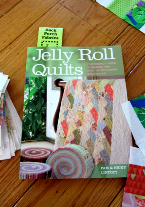 Book-J:  Jelly Roll Quilts by Pam and Nicky Lintott