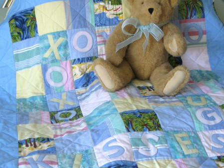 """A """"Fine Finish"""" — A Special Quilt is Florida Bound! (Giveaway, Too)"""