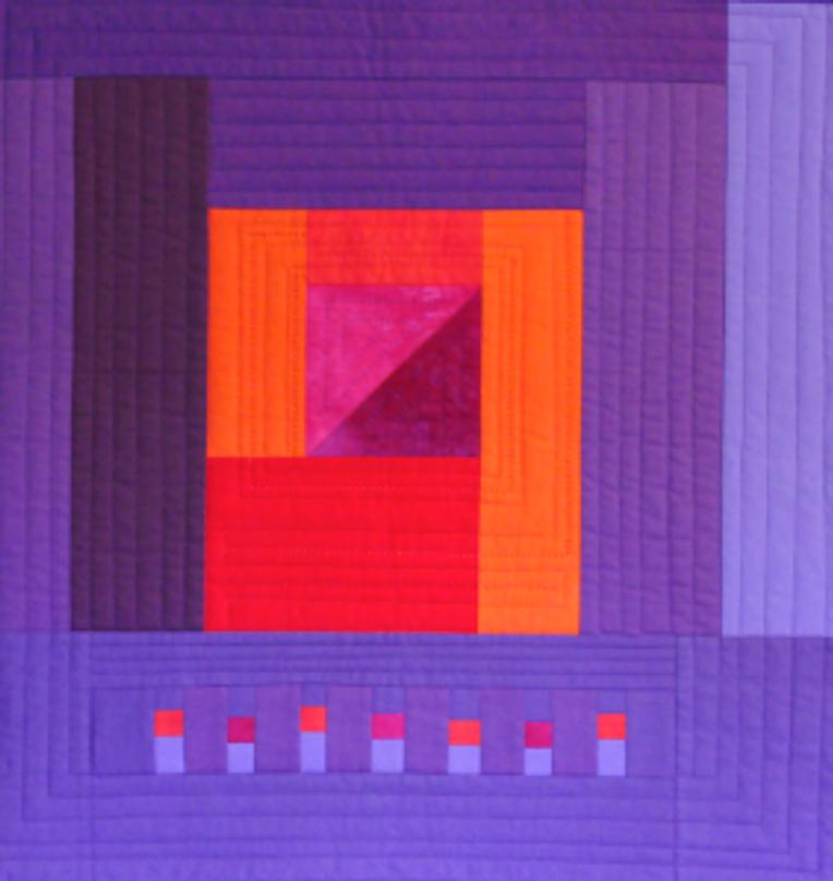 Quilt-J: Minimal Purple by Kristin Shields in Minimal Quiltmaking