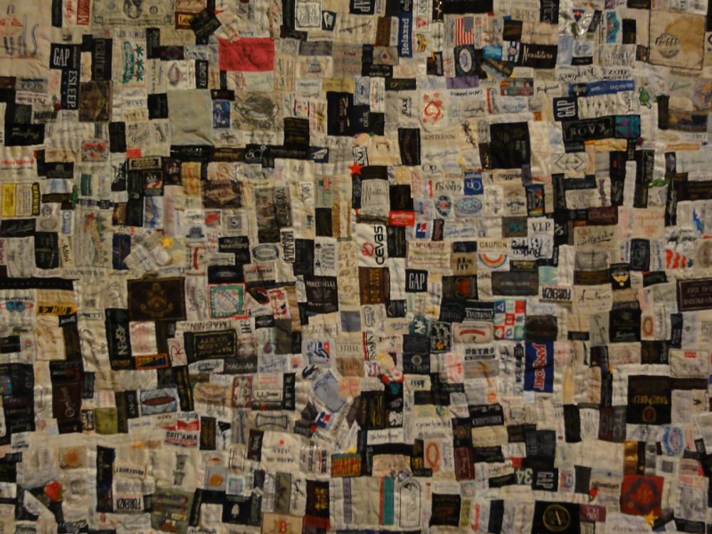 "'Labels"" by Libbie Gottschalk."