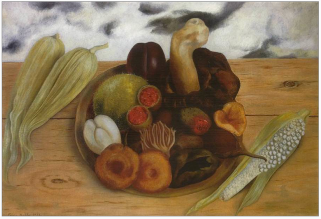 Fruits of the Earth by Frida Kahlo