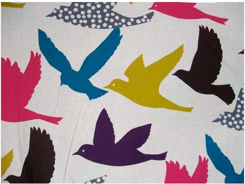 Fabric-J:  Echino backing fabric