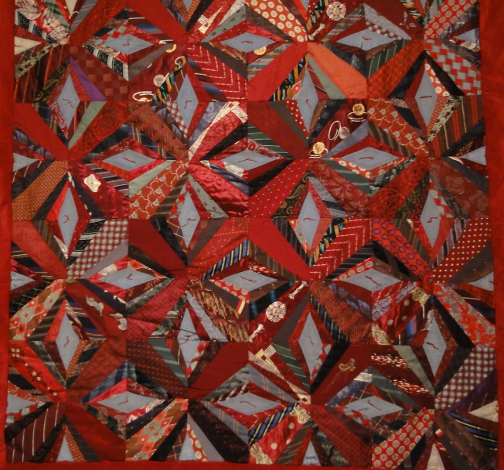"""""""Silk Ties"""" by Sue Bulkeley, 1883-1970."""