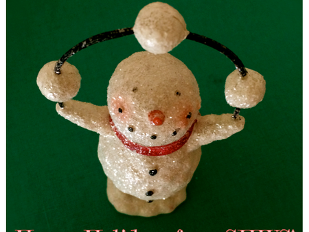 Keep Juggling Those Snowballs . . . the Holidays are Almost Here!