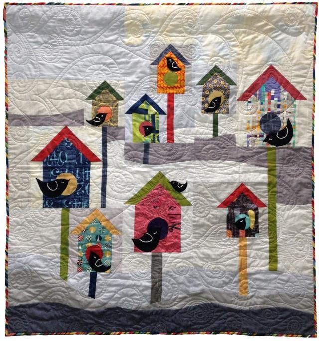 Winter Brrrd Houses by Pati Fried