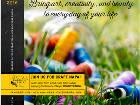Craft Napa – In Search of My Creative Spark