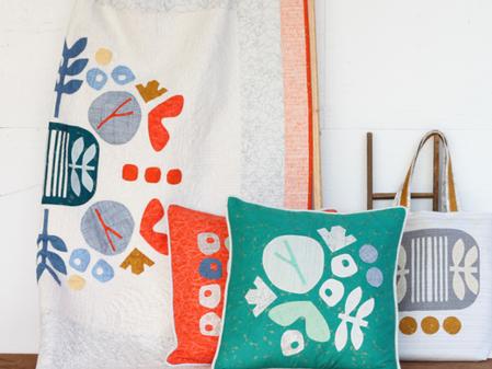 Quilter & Designer Carolyn Friedlander Stops By . . . Giveaway Today!