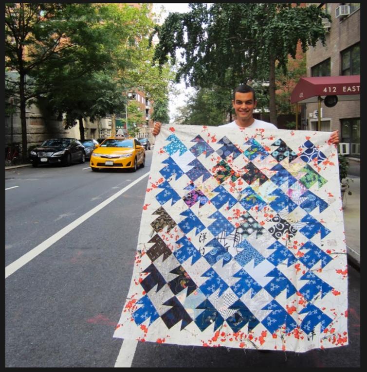 Quilt-J:  Anita Grossman Solomon's Latest Quilt