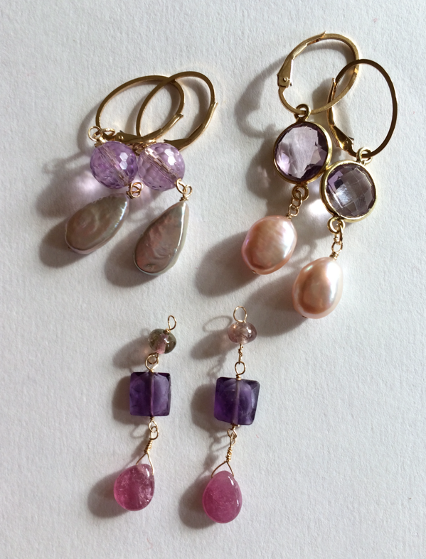 Projects-J:  Earrings for 2014 gifts