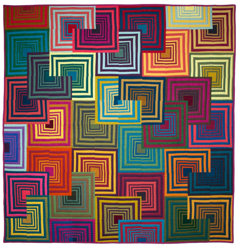 House Tops Quilt (2010) by Tara Faughnan