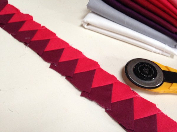 Paper Piecing with Cotton Couture