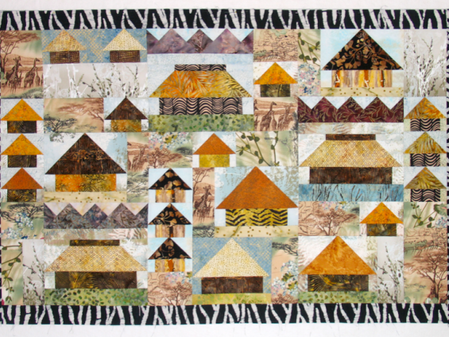 The SHWS Gallery Opens with African Prints + Quilts = Magic!