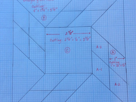 Tips for Constructing a Tumbling Diamonds Quilt Block – Part 2