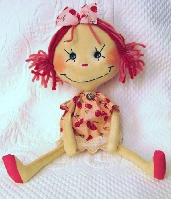 Cherry Rag Doll