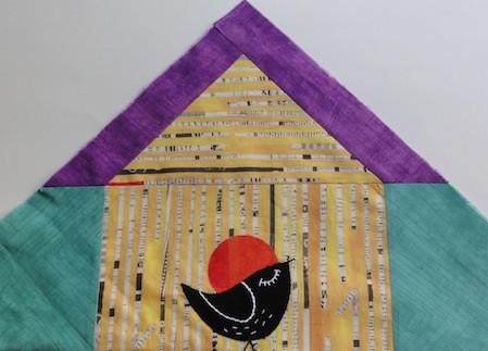 Blackbirds and Blossoms Oh-La-La! Quilt-Along: The Birdhouse Blocks