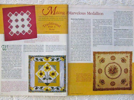"""A Holiday Quilt with """"History""""…and a Wonderful Seasonal Concert!"""