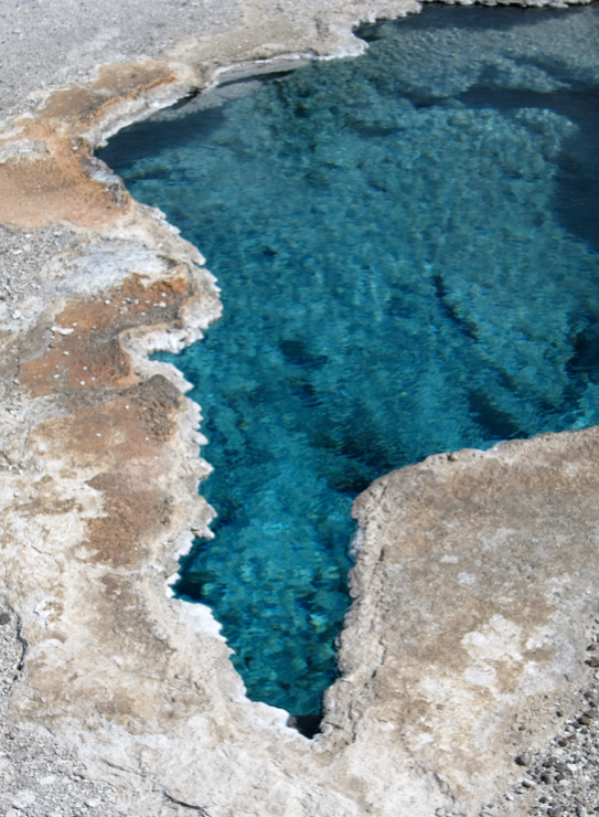 Inspiration-J:  Mineral pool Yellowstone National Park