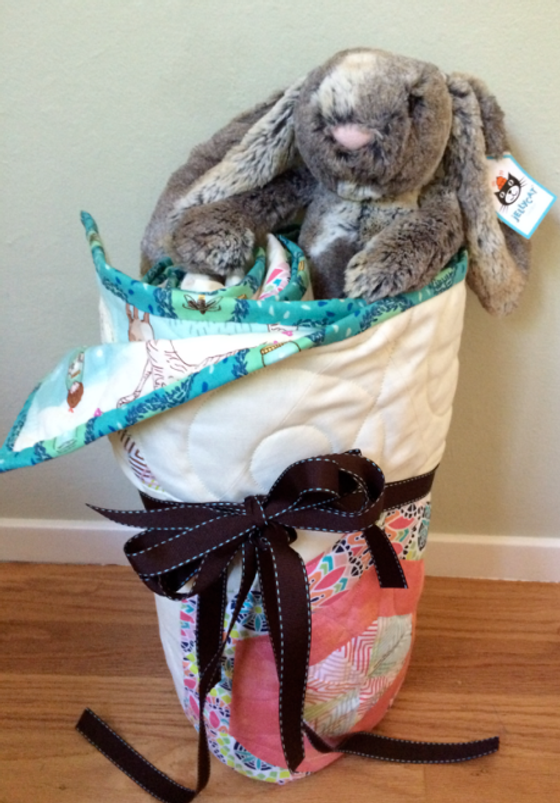 Ready for delivery along with Woodland Bunny by Jellycats--I've got my own Jellycat puppy standing guard by my sewing machine (yes, small obsession!).