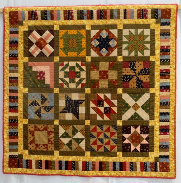 Tuesday Morning Quilt by Carole Smyth
