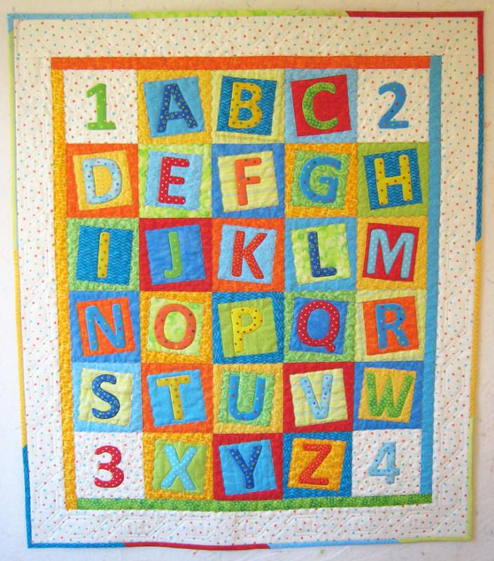 """Alphabet Soup, 39"""" x 45"""", made by Chris Porter"""