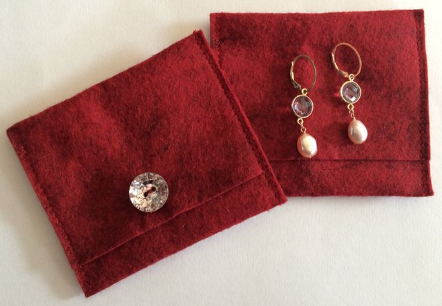 Project-J:  Jewelry pouches for gifts