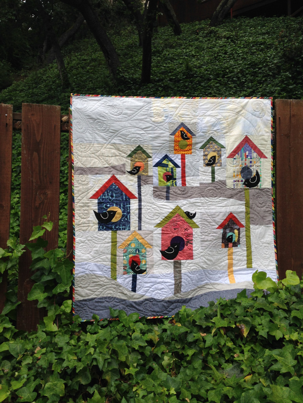 Winter Brrrd Houses by See How We Sew