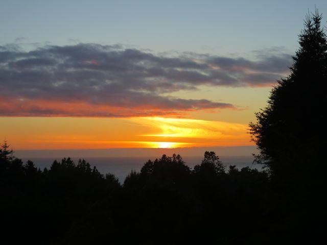 Mendocino Sunset; photo by Darra Williamson