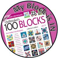 Quiltmaker's 100 Blocks Blog Tour