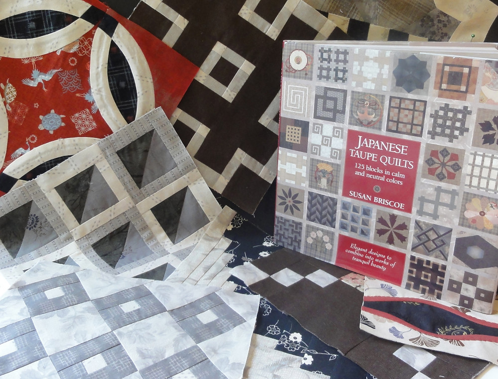 Susan Briscoe's Taupe Quilts book