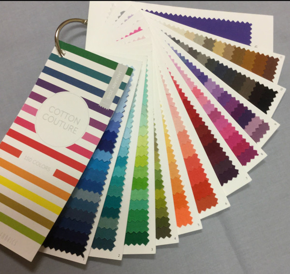 Michael Miller's Cotton Couture Swatch Book