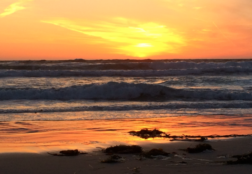 Dates & Places-J:  Sunset Pacific Grove, CA #1