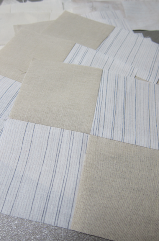 What a coincidence, I'm using a Carolyn Friedlander stripe in my quilt.