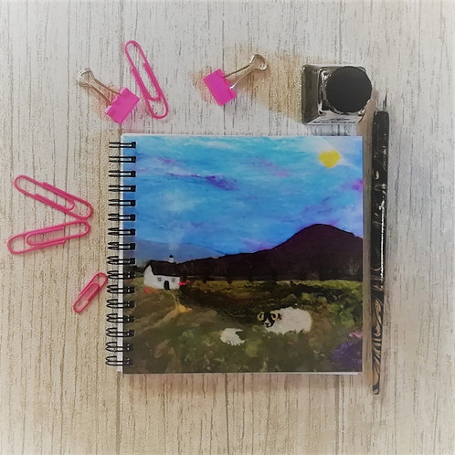 Heather Hill & Ewe Square Notebook