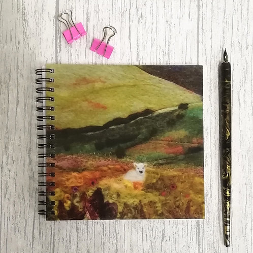 ' Peek A Boo' Square Notebook