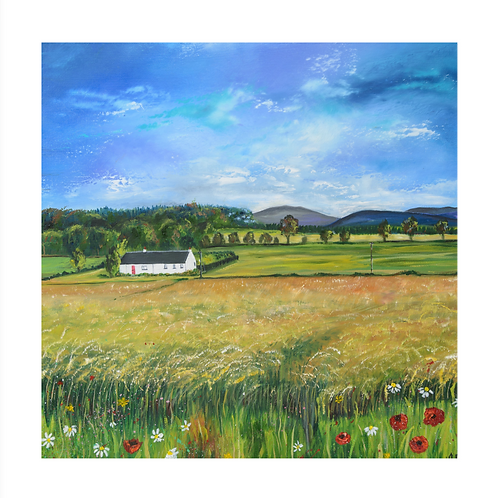 Fields of Gold - Mounted Giclee Print