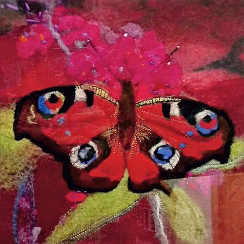 Flutter Butterfly - Original Wool Felt
