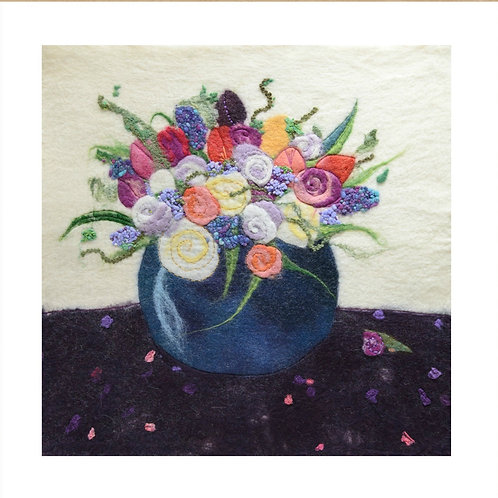 Summer Blooms - Mounted Giclee Print